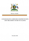 Consolidated guidelines for prevention and treatment of HIV in Uganda