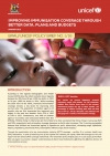 Improving immunisation coverage through better data, plans and budgets