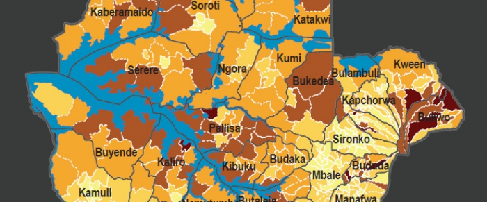 Uganda Poverty Maps updated